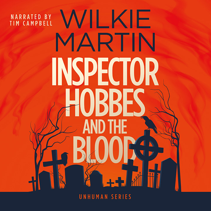 Audiobook cover of Inspector Hobbes and the Blood