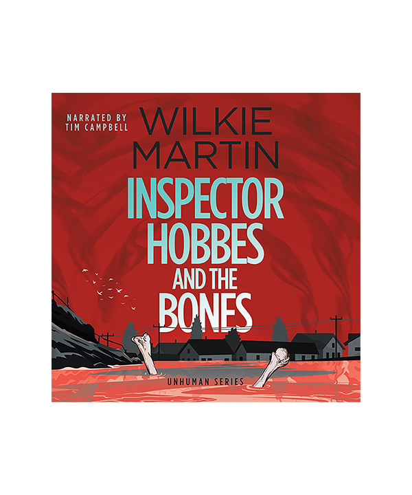 Audiobook cover of Inspector Hobbes and the Bones