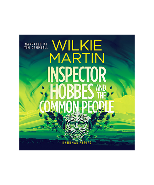 Audioboook cover of Inspector Hobbes and the Common People