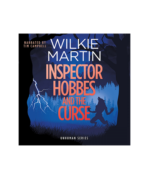 Audiobook cover of Inspector Hobbes and the Curse