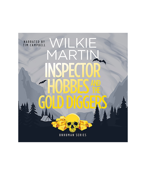 Audiobook cover of Inspector Hobbes and the Gold Diggers