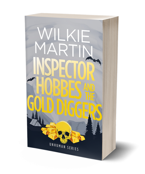 Cover of Inspector Hobbes and the Gold Diggers