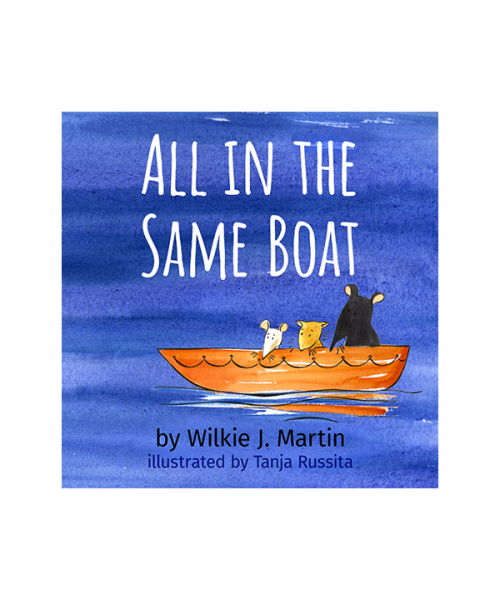 Audiobook cover of All in the Same Boat