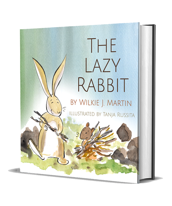 Audiobook cover of The Lazy Rabbit