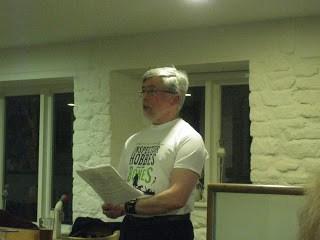 Wilkie Martin reading